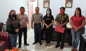 BLT Dandes Dipotong Kumtua Soyoan Minahasa Tenggara Dicopot Sementara
