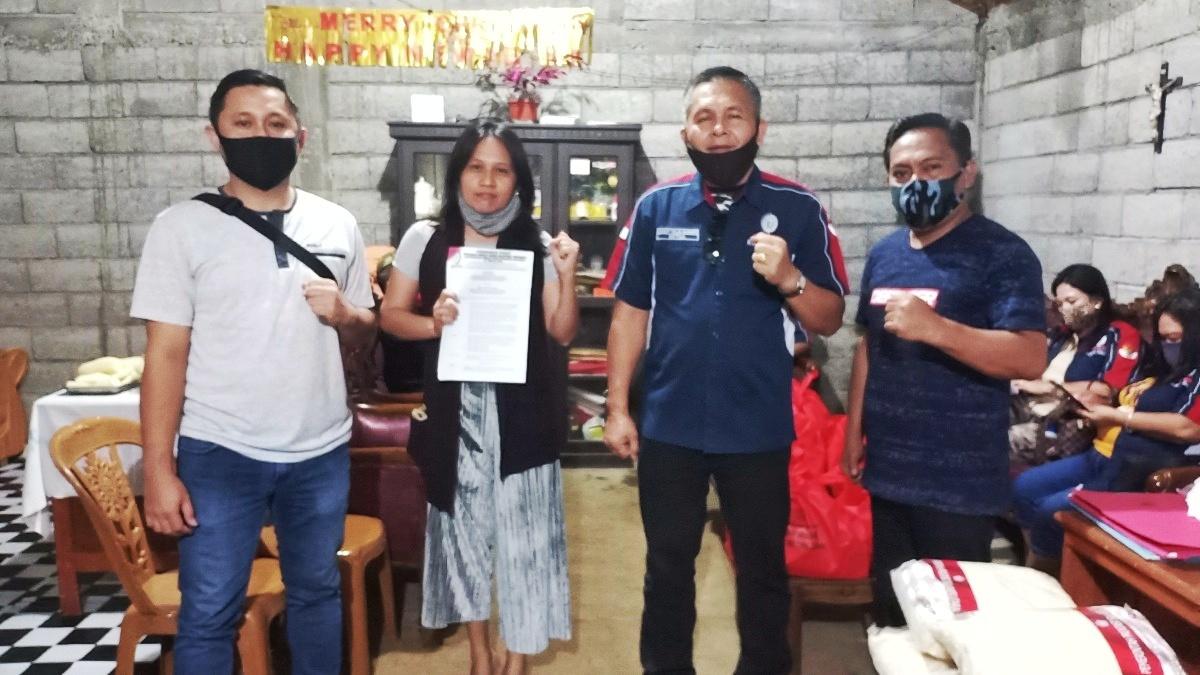 Resmi Terbentuk Karwur Lendeng Dampingi Sumual Pimpin Federasi SBSI Tomohon 01