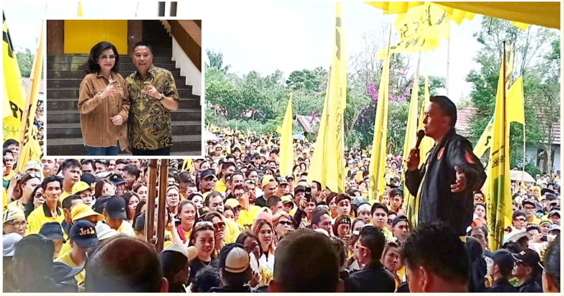 Beringin Tomohon Kompak, JFE Cs Dukung Penuh CEP Bertarung di Pilgub