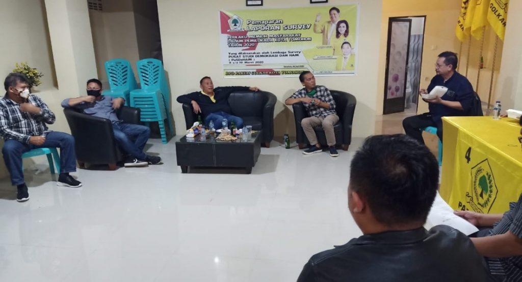 Instruksi DPP Direspon DPD Golkar Tomohon Persiapkan Musda IV