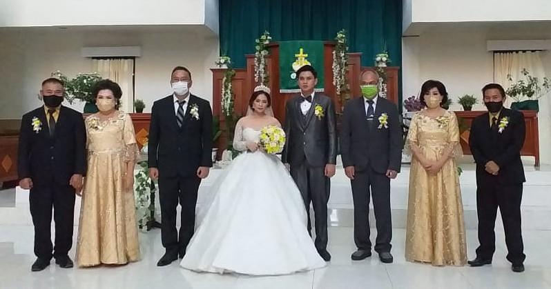JFE Jadi Saksi Pernikahan Kristovel dan Melissa