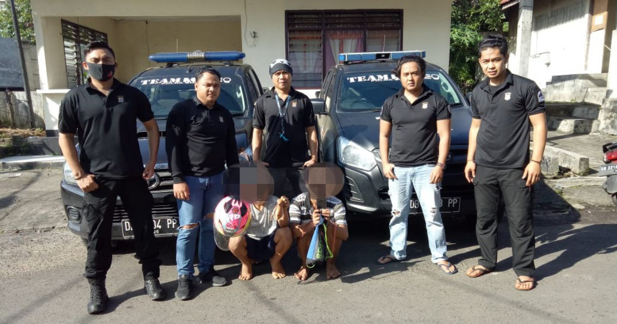 Pelaku Curanik Ditangkap Maleo Polda Sulut, Satu TSK Berusia 13 Tahun