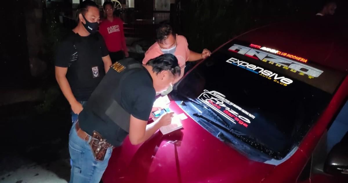 Keluhan Warga Direspon URC Totosik Polres Tomohon, Mobil Knalpot Racing Ditilang