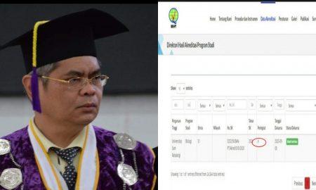 BAN-PT Nyatakan Program Studi Biologi Fakultas MIPA UNSRAT Manado Terakreditasi A