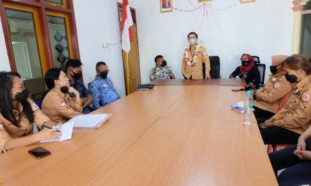 Christian Supervisi di Bawaslu Kepulauan Sitaro
