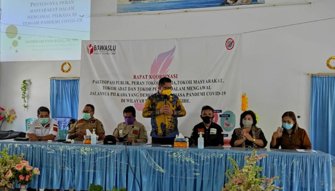 Bawaslu Sulut Ajak Tokoh Agama, Adat dan Pemuda di Sangihe Ikut Awasi Pilkada