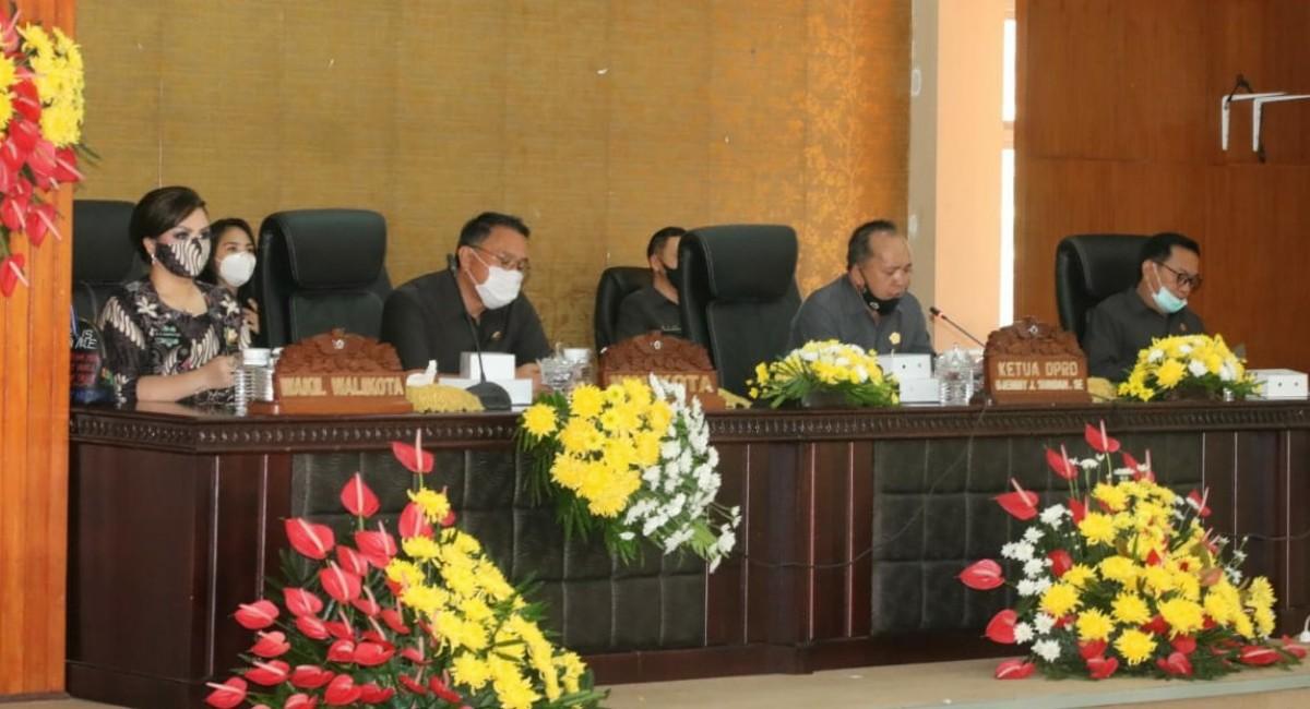 Rapat Paripurna Walikota dan DPRD