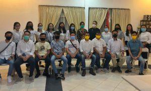 Satu Komando Komunitas Milenial Intelektual Tomohon Dukung Penuh Pasangan JGE VB2