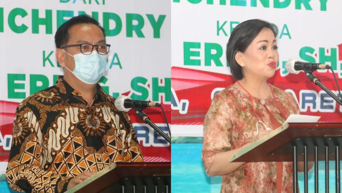 Caroll Bangga Kajari Tomohon Dijabat Putri Asli Daerah