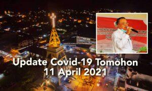 Update 11 April 2021, 20 Pasien Covid-19 di Kota Tomohon Sembuh