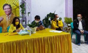 Pengurus Partai Golkar 4 Kecamatan di Tomohon Hari Ini Bermusyawarah