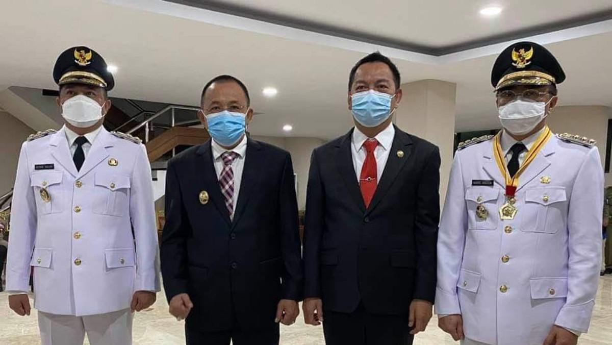CS-WL Hadiri Pelantikan Walikota dan Wakil Walikota Manado