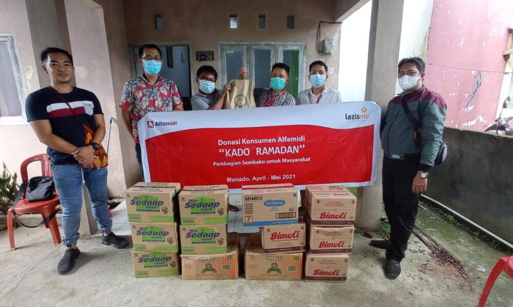 Alfamidi Sebar Kado Ramadan 12.175 Paket Bapok