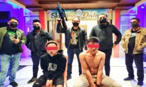 Mengaku Dianiaya, Pemuda Kakaskasen 2 Bawa Senjata Laras Panjang dan Buat Keributan