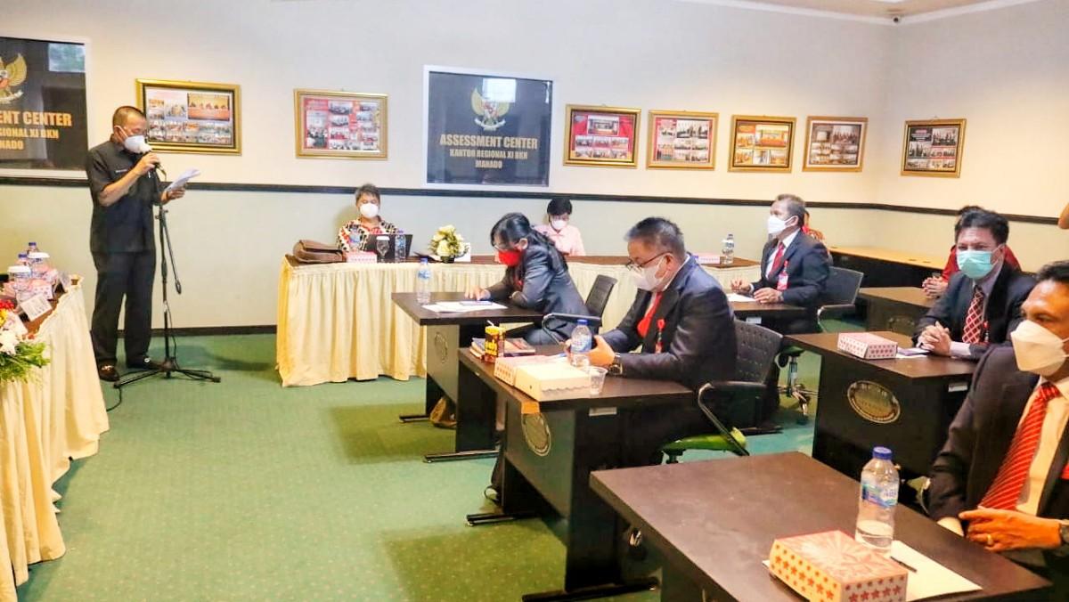 11 Pejabat Ikuti Seleksi Calon Sekkot Tomohon, Rekam Jejak Jabatan Salah Satu Penilaian
