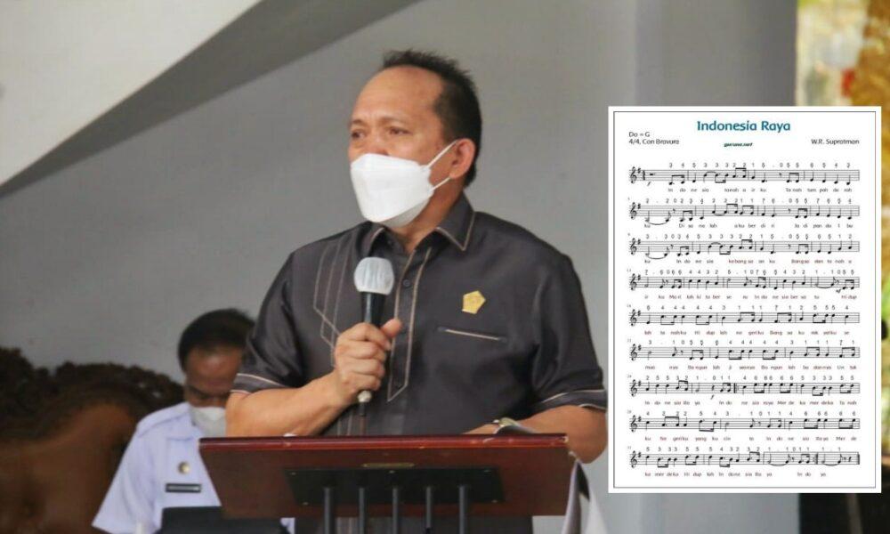 JES Usulkan Lagu 'Indonesia Raya' Dikumandangkan Setiap Hari di Kota Tomohon