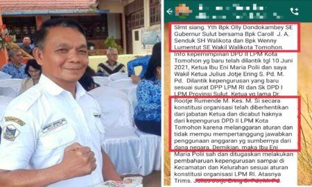 JJE Diminta Klarifikasi Soal Pesan WA Berisi Dugaan Pencemaran Nama Baik Terhadap Rooije Rumende