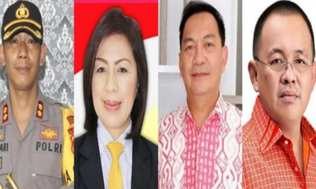 Peringati HUT Bhayangkara ke 75, Polres Gandeng PERBAKIN Tomohon Gelar Kejuaraan Menembak