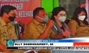 Olly 'Semprot' Caroll, Update 5 Juli: Kasus Covid-19 Tomohon Terbanyak di Sulut