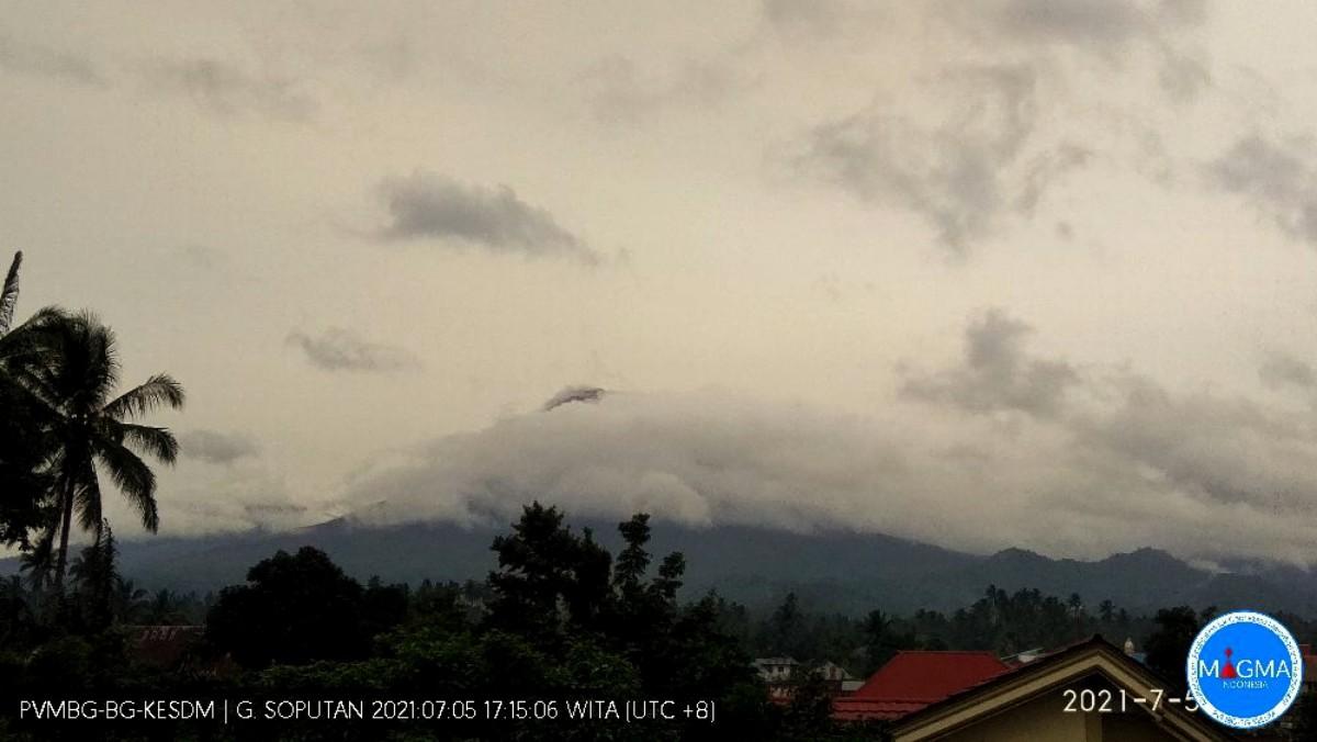 Update 5 Juli: Status Gunung Soputan Level II, Warga Diminta Waspada